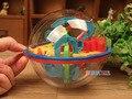 Arpa 100 Pasos Pequeño Tamaño Grande 3D Laberinto Mágico Rodando globo de la Bola De Mármol Puzzle Cubos Rompecabezas Juego Perplexus Esfera laberinto