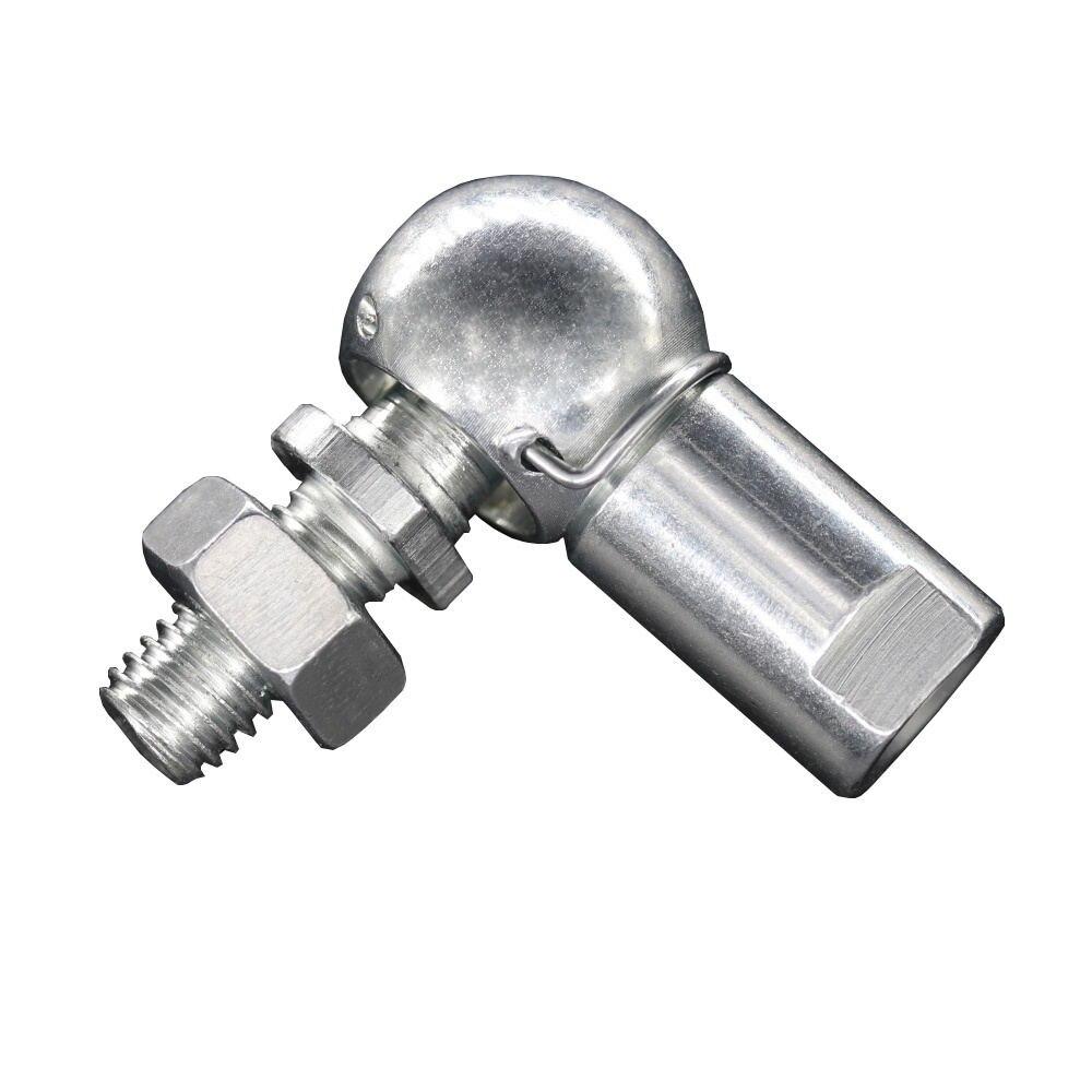 Купить с кэшбэком 2PCS SQP5S M5 Angle Ball Joint Rod End M5x0.8 Thread Rod End Ball Bearing With Stud