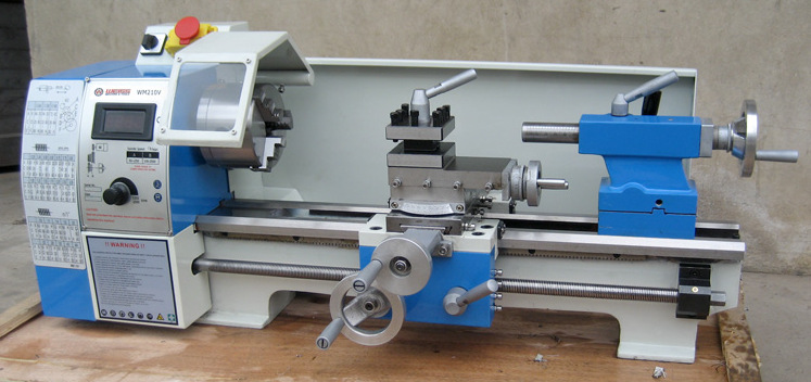 Lathe Mini bench Lathe Machine Household Wood Lathe Machine wooden machine tools WM210V 600W professional gold quality 600x900mm mini lathe machine