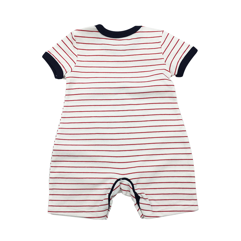 Baby Boys Romper New Summer Animal style Short Sleeve infant rompers Jumpsuit cotton Baby Rompers Newborn Clothes Kids clothing in Rompers from Mother Kids