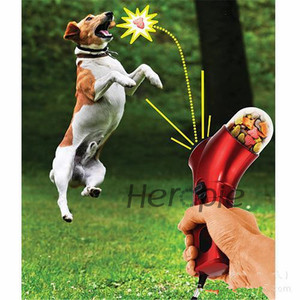 Heropie Dog Training Snacks Pet Dog Training Toy Feeder funny Pet Food Catapult Incentive Tool Outdoor Toys Pet Treat Launcher