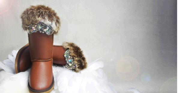 Nieve La Invierno Gruesa De Blanco 2019 Mujeres Botas 2 Conejo Coser Negro Zapatos Estación 1 Plataforma Pelo Corteza qvwEwpZOgx