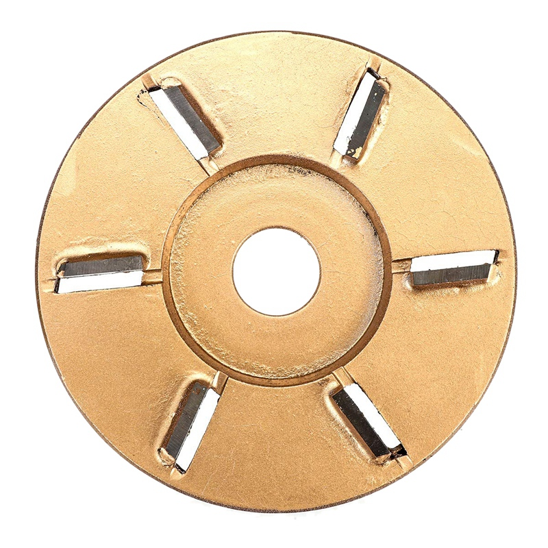 90Mm Wooden Material Carving Disc Tool Three Teeth Woodworking Turbo Tea Tray Digging Milling Cutter For 16Mm Aperture