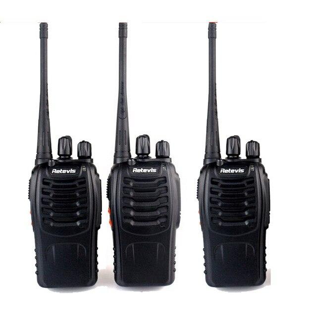 3 шт. Retevis H777 Walkie Talkie UHF 400-470 МГц Портативный Радиочастотный Трансивер Любительское Двухстороннее Радио Comunicador A9104A