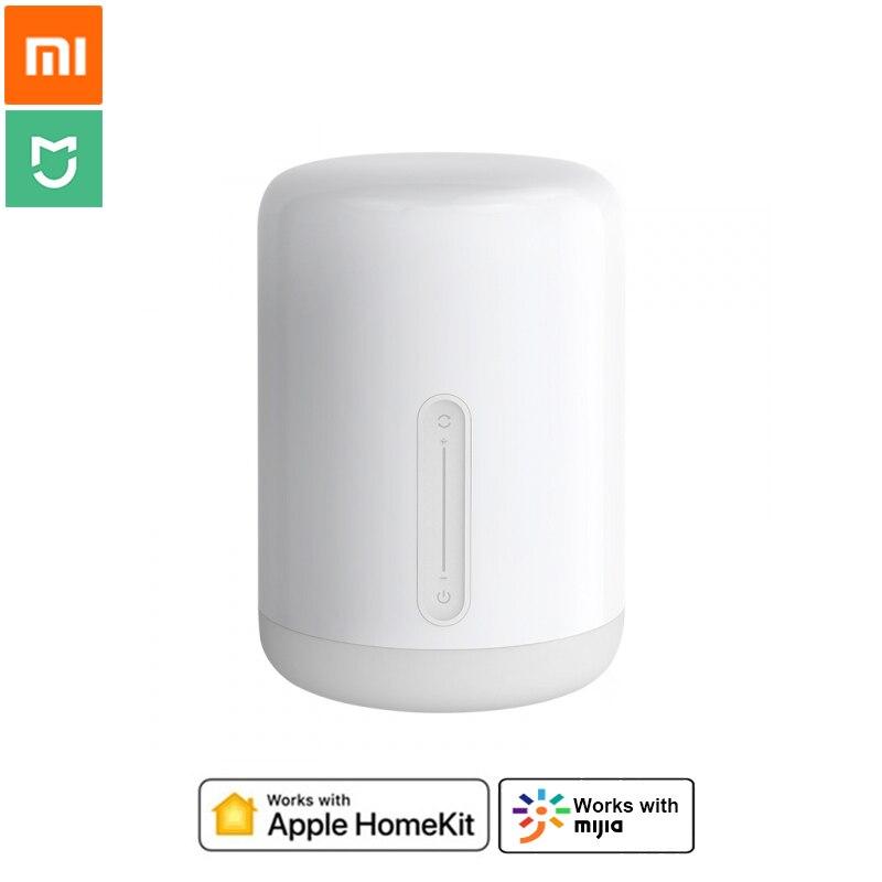 Xiaomi Mijia Lámpara 2 inteligente lámpara de escritorio BlueTooth WiFi Touch Panel de Control de la aplicación de Control por HomeKit de Apple Siri-in control remoto inteligente from Productos electrónicos    1