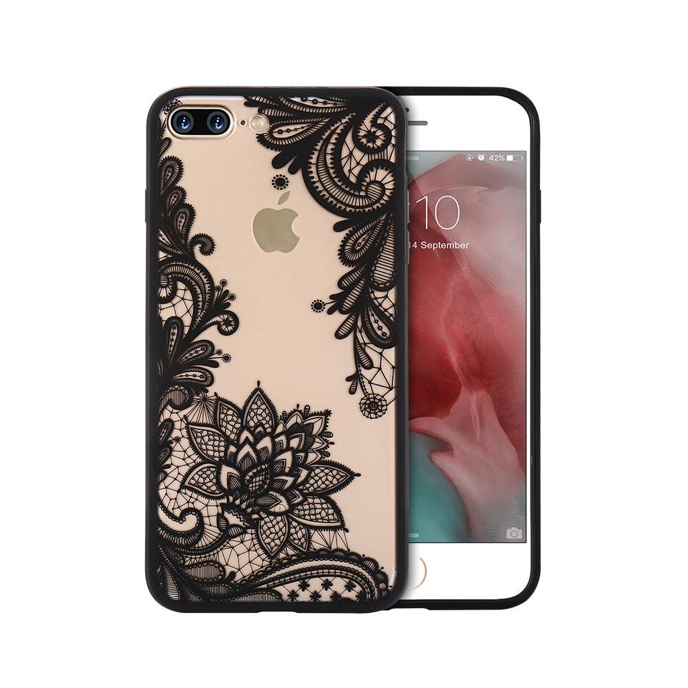 Leegoal Pola Pelapisan Krom Emas Lubang Penutup Hard Case Untuk Rearth Iphone 4s Ringke Kiwi Kisscase Cute Flower For 7 Plus Flora Lace Ultra Thin Transparent Mobile