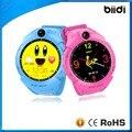 No. 1 crianças 2g smart watch gps lbs localização 1.22 sos anti-perdido do monitor rastreador câmera tela de toque rodada relógio de pulso pk q50/q90/q100