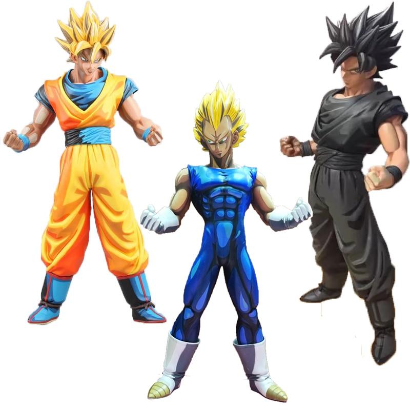 Bande Dessinee Couleur Noir Fils Goku Vegeta Zamasu Dragon Ball Z Goku Super Saiyan Kakarotto Pvc Joker Harley Action Figure Modele Jouet Aliexpress