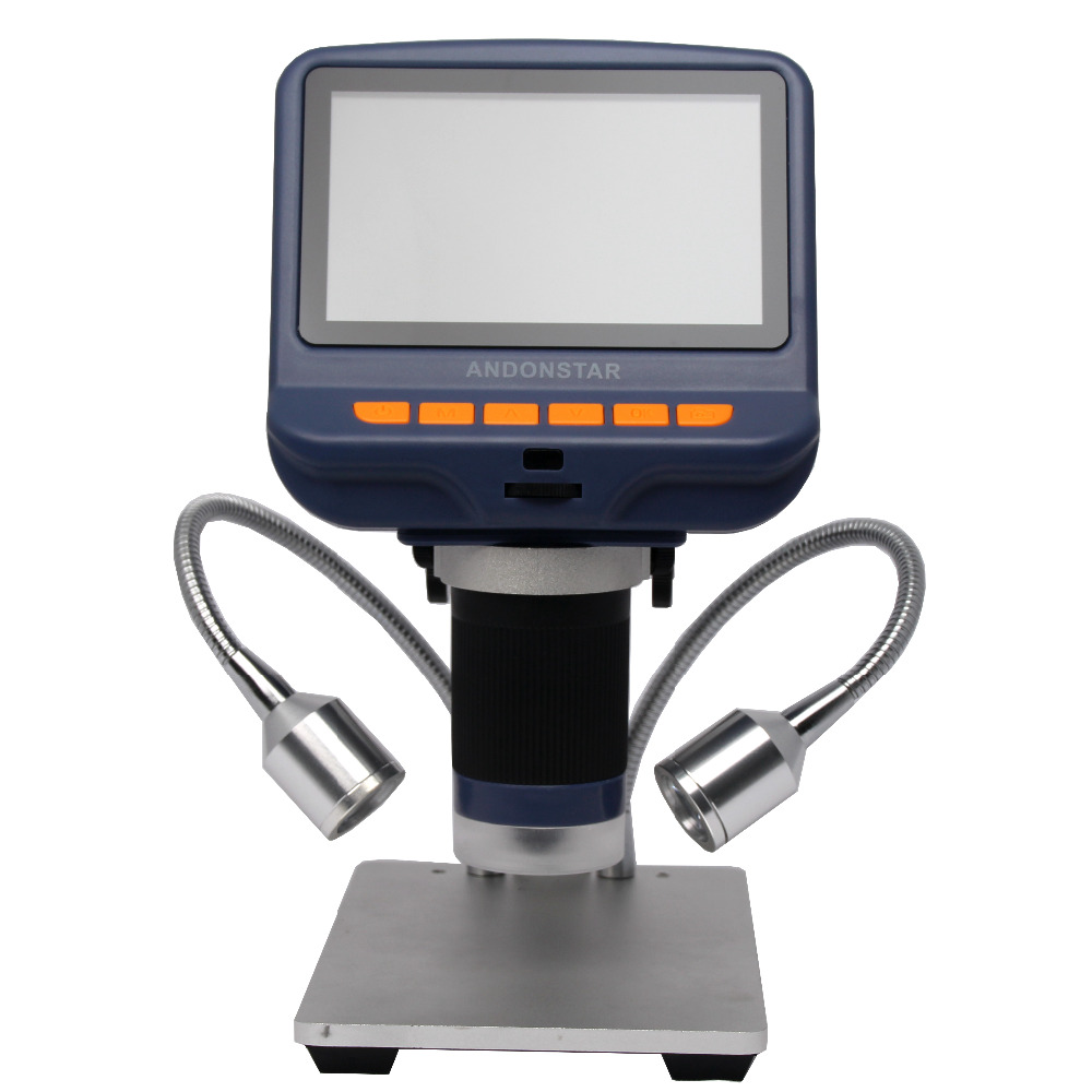 Digital USB Microscope Built-in Display THT SMD Tool Soldering Tool Jewelry Appraisal Phone Repair 4.3 inch Dental Microscope цена
