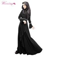 Abaya Jilbab Kaftan Fashion Maxi Dress Islamic Maxi Evening Party Dress