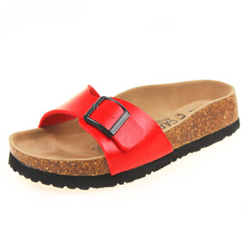 FeiYiTu New 2018 Summer Men Sandals Flats Cork Slippers Casual Shoes Print Mixed Colors Slides Flip Flop Plus Size 35-43 1