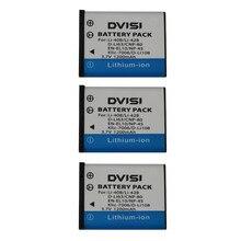 DVISI – batterie de caméra de haute qualité, 1200mah, LI42B Li 42B 40B, pour OLYMPUS U700 U710 FE230 FE340 FE290 FE360, 3 pièces/lot