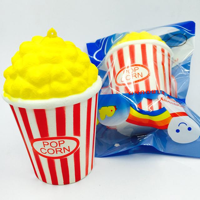 Squishy kawaii Squishy Popcorn Slow Rising Squishy Toy