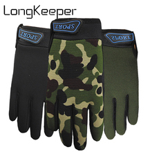 Gloves Mittens Guante Fishing Sports Kids Soft Outdoor Anti-Skid Children Boys for Hiking