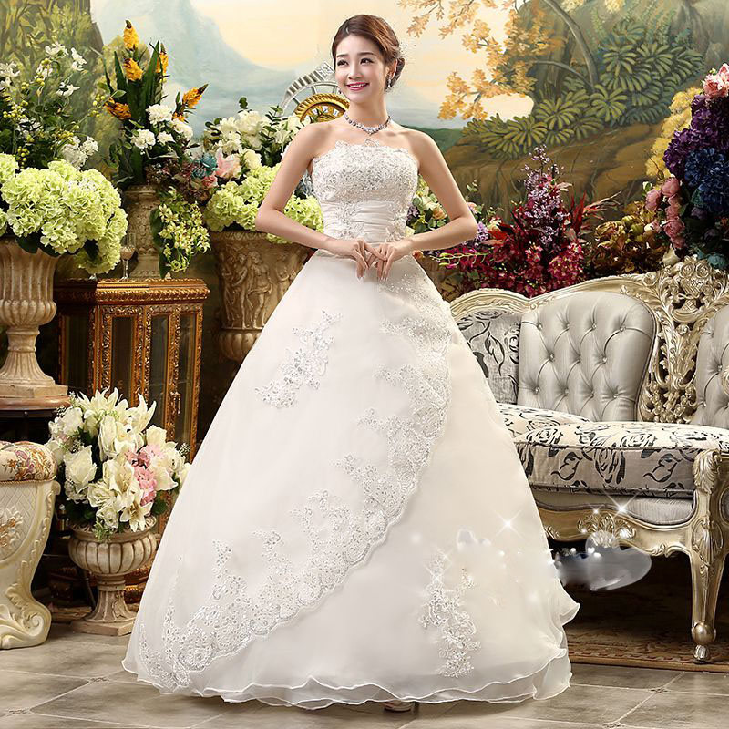 Inexpensive Plus Size Wedding Gowns: Cheap Real Photo Customized Princess Lace China 2016