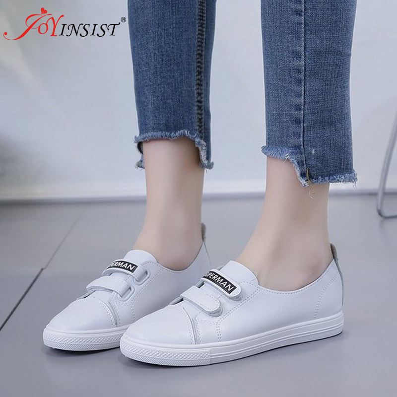 Spring Women Shoes Flats Moccasins Loafers Ballerines Slip-On Genuine-Leather