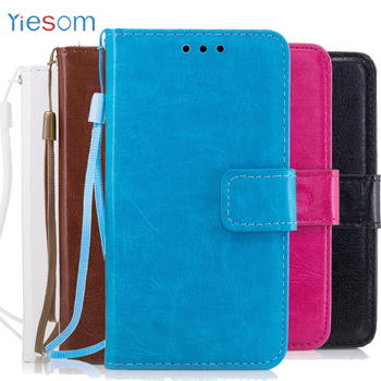 YIESOM G355H de cuero funda para Samsung Galaxy Core 2 SIM G355H SM-G355H G355 G3559 cubierta de la bolsa del teléfono funda para Samsung Galaxy Core2
