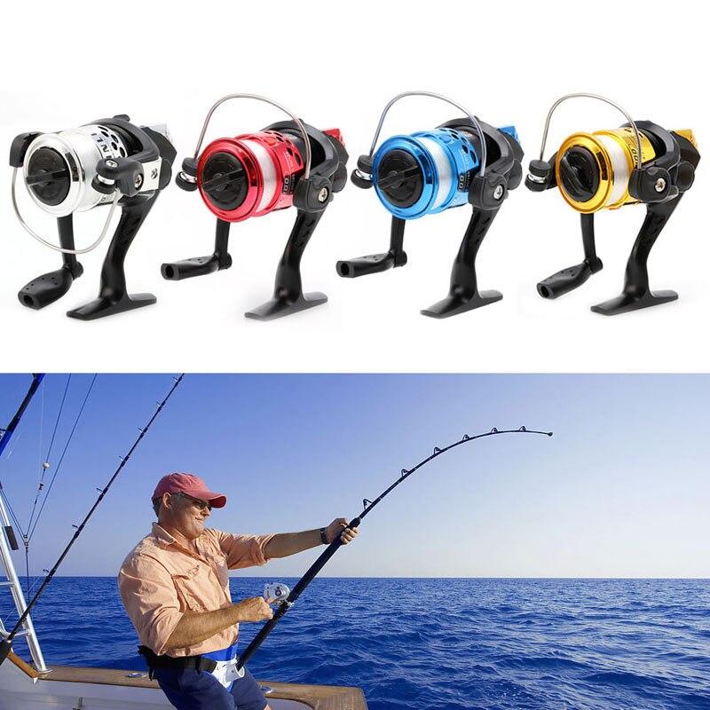 Высокая Скорость Рыбалка линии G-Передаточное отношение 5.2: 1 приманки складной рокер спиннинг Рыболовные катушки с линии