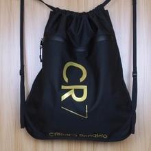 Cristiano Ronaldo Drawstring Bag Waterproof Sport Storage Bags CR7 Backpacks For Outdoors Football Basketball Camping Hiking