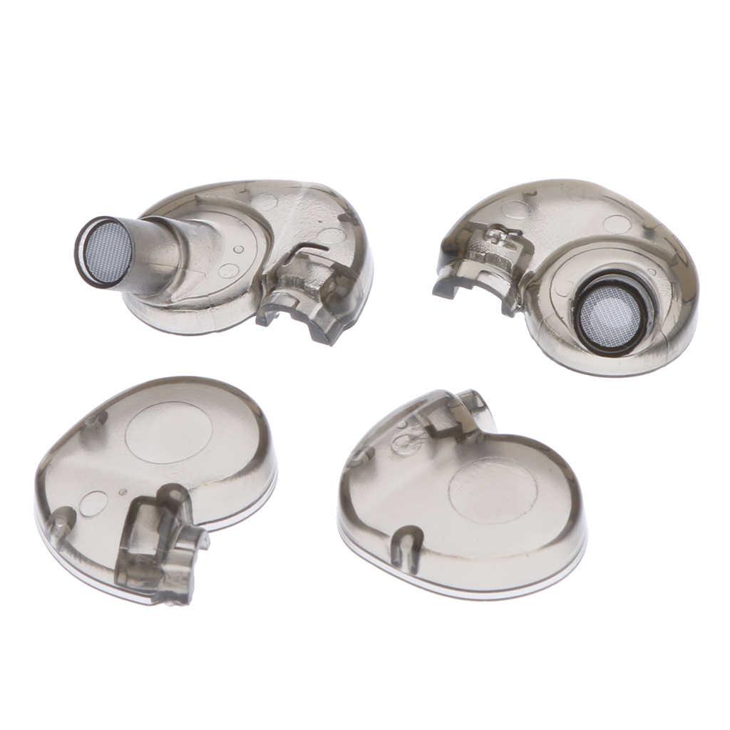 Carcasa para auricular DIY (parte trasera + frontal) para SE535 SE425 SE315 SE215
