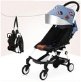 baby stroller umbrella stroller Pram stroller car summer Ultraportability Russian free shipping