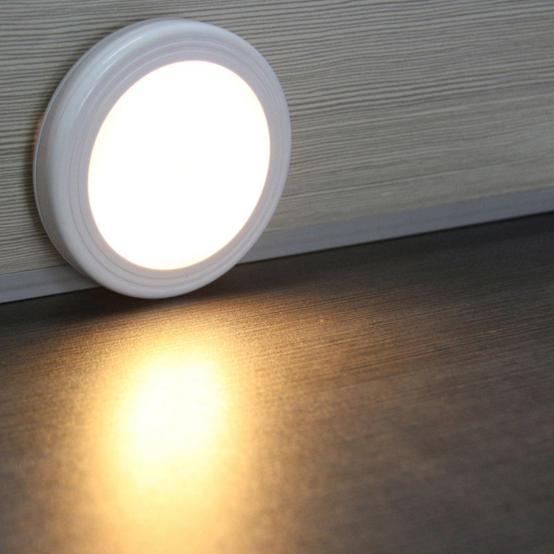 Night Light Body Motion Sensor Activated Closet Corridor Cabinet Led Light Wall Light Induction Lamp