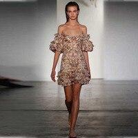 Для женщин Окрашенные Сердце складки плиссированное платье Холтер галстук многоцветная персик гобелен с открытыми плечами мини платье