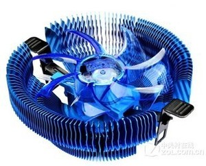 Pccooler CPU cooler E92F Blue LED PWM Mute speed control suitable for Intel LGA775/LGA1155/1156/AMD754/939/AM2/AM2+/AM3