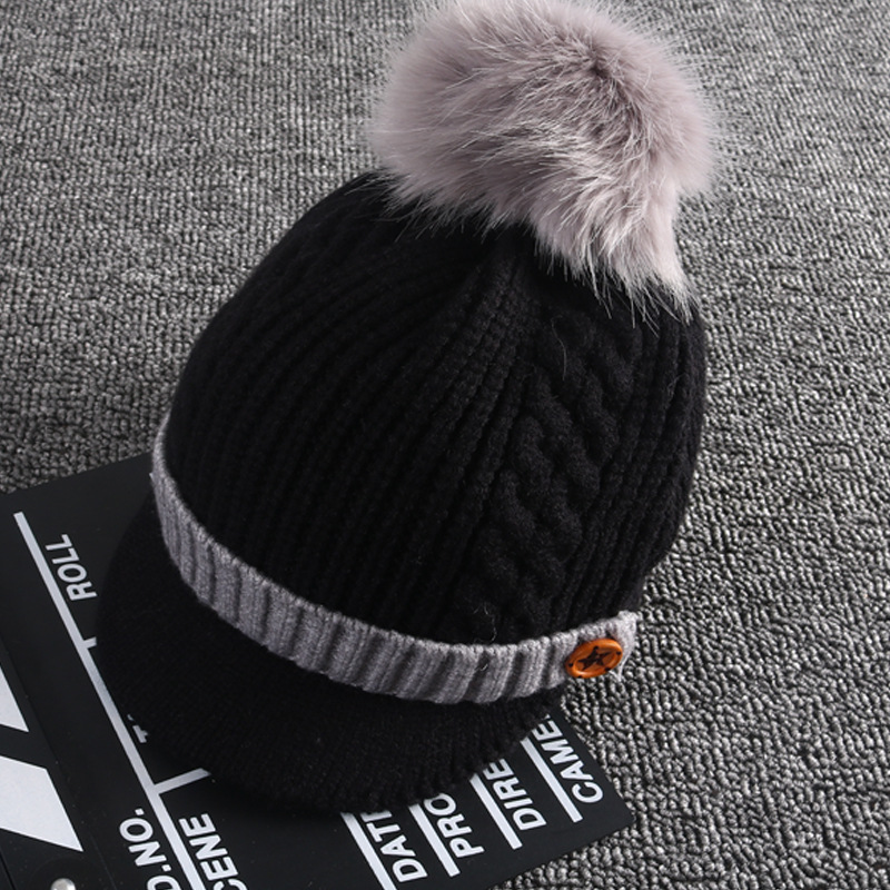 e884b4aa45a Baby hat wool cap male thick section 1 5 years old baby ball cap girl and  boy autumn and winter warm hat kids winter hats Tags