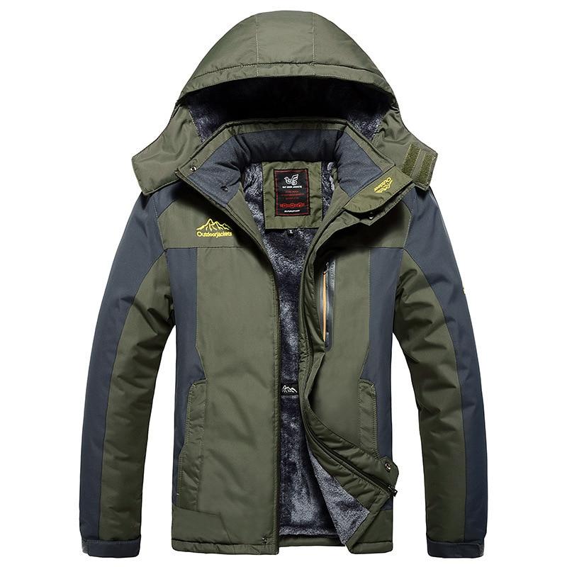 Large Size XL-9XL 2019 Top Quality Warm Outwear Winter Jacket Men Thick Warm Windproof Coat  Casual Men Coat