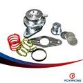 PQY ГОНКИ-НОВЫЙ BOV Алюминиевый turbo клапан сброса давления для Subaru 08 + WRX Наследие Mazdaspeed 3 предохранительный клапан PQY5792