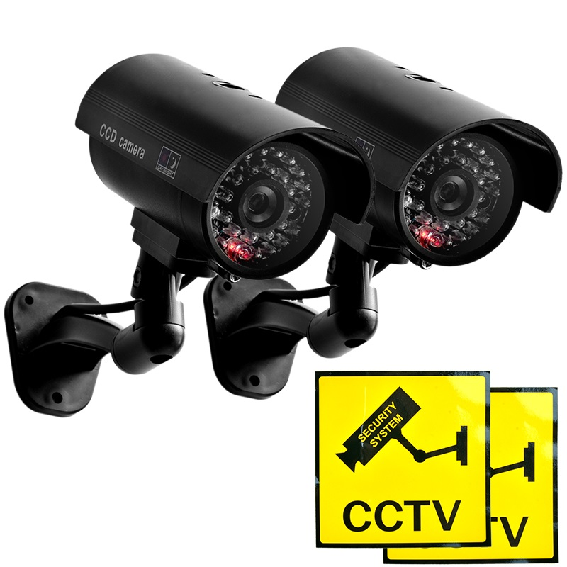 FC 02 Model Lowest price Outdoor Waterproof IR CCTV Bullet of the LED fake Surveillance security