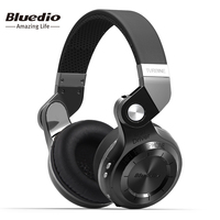 Bluedio T2 Bluetooth Moblie Headphones With Microphone Earphones Support Music