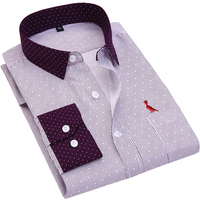Dudalina 2017 Casual Shirt Tops Brand Reserva Camisa Shirts Cotton Fashion Long Sleeve Floral Print Embroidery