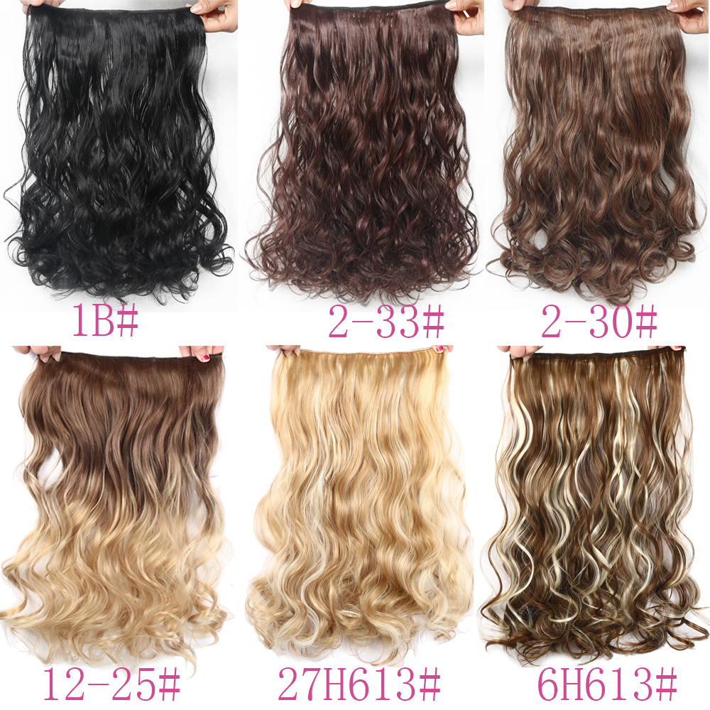 Suri Hair 24 inches 5Clips i Hair Extensions Bouncy Curly Real - Syntetiskt hår - Foto 5