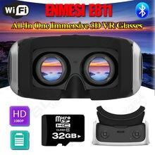 """จัดส่งฟรี! 3DวิดีโอจริงเสมือนVRแว่นตาชุดหูฟังWiFi Android 5.5 """"TFT + 32กิกะไบต์TF"""
