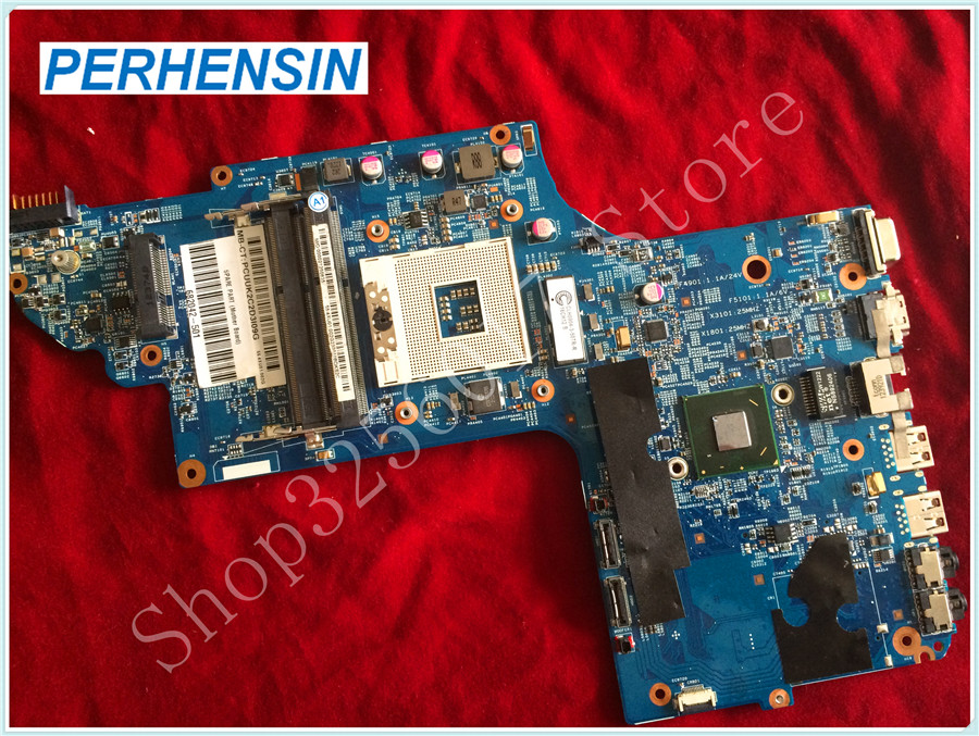 все цены на For HP For DV7-7000 laptop MOTHERBOARD 682042-501 48.4ST04.021 DDR3 Non-integrated 100% tested good