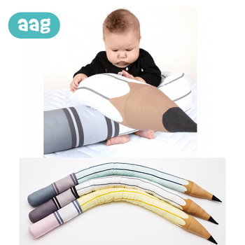 AAG Nordic Newborn Baby Crib Bed Bumper Comfort Pillow Bed Baby Cot Protector Fashion Kid Room Decor Newborn Safety Cushion 40 xisayababy nordic style baby bed bumper colorful baby pillow cushion baby bedding crib protector baby room decoration 200cm