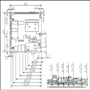 Image 5 - عالية الجودة إنتل كور i7 3537U المعالج 4 جيجابايت ذاكرة عشوائية اللوحة الصناعية سلسلة المدى لوحة تحكم رئيسية ITX مصغر