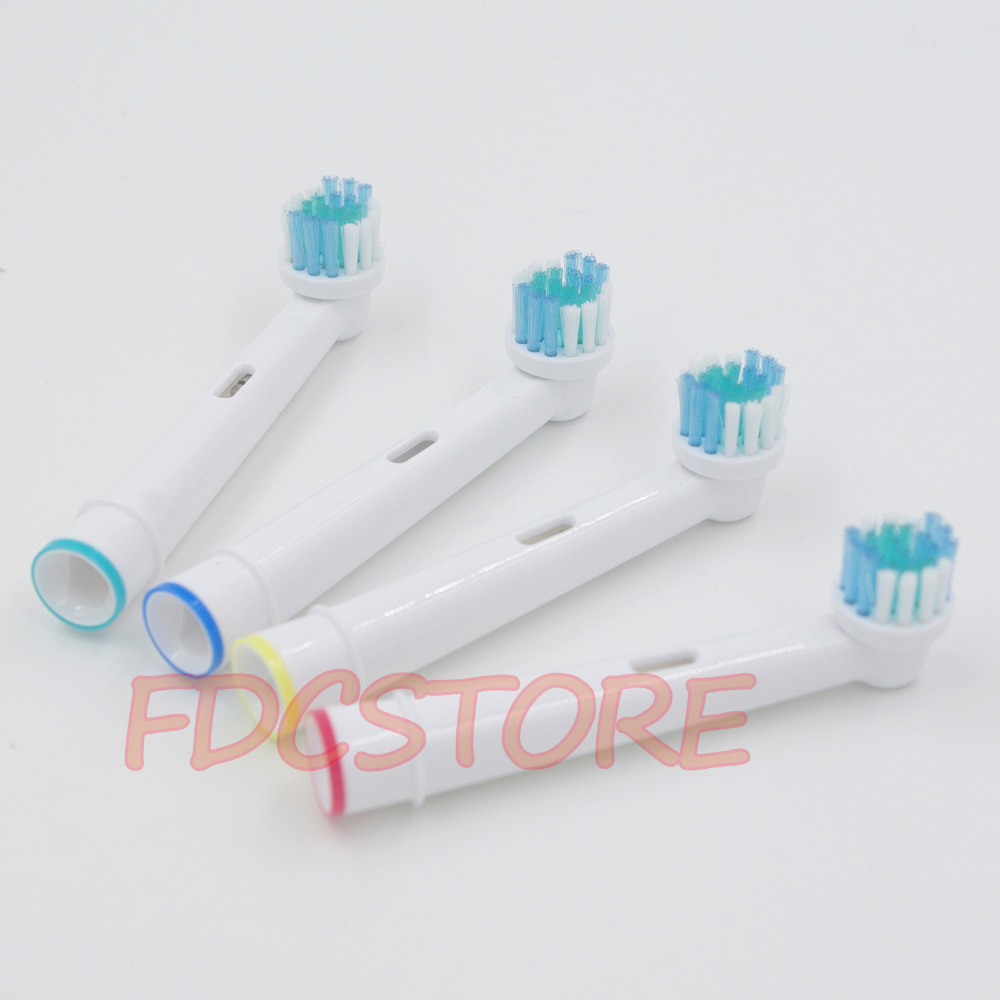 8x Replacement Brush Heads For Oral-B Electric Toothbrush Fit Advance Power/Pro Health/Triumph/3D Excel/Vitality Precision Clean 2