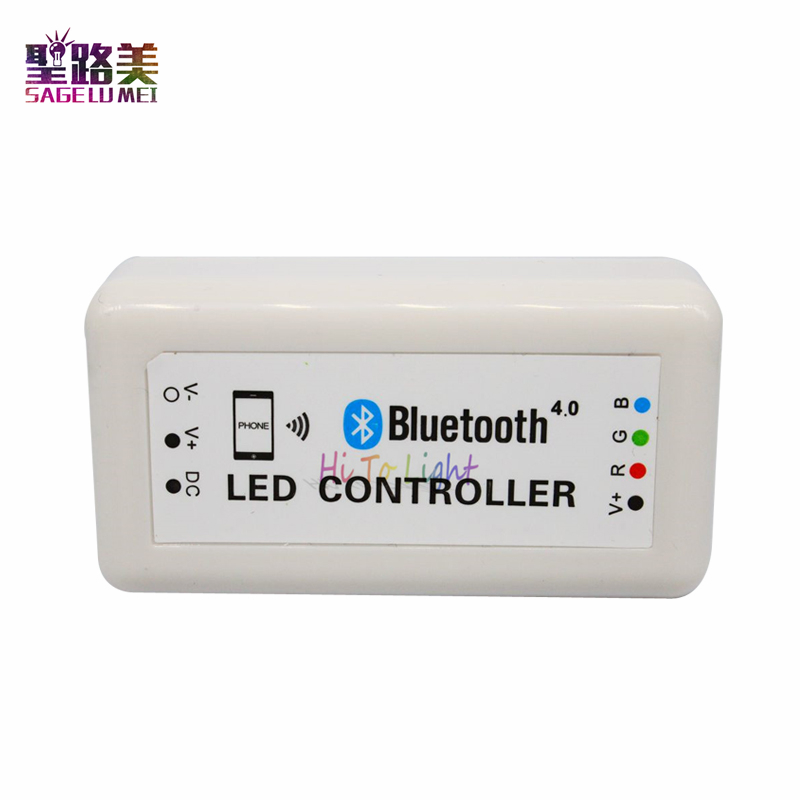 Helpful Bluetooth Rgb Led Controller For Led Strip Led Module,support Bluetooth Version 4.0 Rgb Controlers Lights & Lighting iphone 4s Or Above,magic Led Light Software