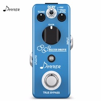 Donner Blues Drive Overdrive Guitar Effect Pedal 2 Mode Mini Electric Portable Guitar Pedals Parts Accessories