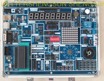 Envío Gratis YT-16D Junta de Desarrollo de la AVR caja experimental ATmega16 Placa de desarrollo
