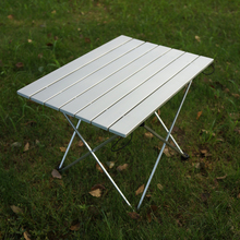 Портативный открытый стол для кемпинга алюминиевый складной пляжный стол для кемпинга сверхлегкий водонепроницаемый уличный многоцветный обеденный стол