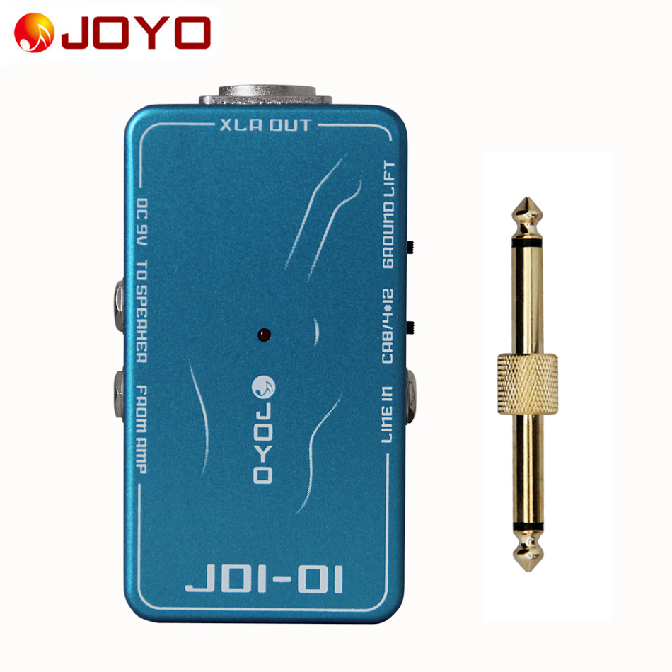 JOYO JDI-01 DI Box with amp simulation With ground lift switch+1 pc pedal connector guitar effect pedalJOYO JDI-01 DI Box with amp simulation With ground lift switch+1 pc pedal connector guitar effect pedal