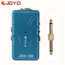 JOYO JDI-01 DI Box with amp simulation With ground lift switch+1 pc pedal connector guitar effect pedal
