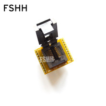 150mil DIP16 sop16 корпуса в диагностический разъем ФП-16-1.27-05 FP16 программист адаптер шаг=1.27 мм ширина=3,9 мм/6,9 мм