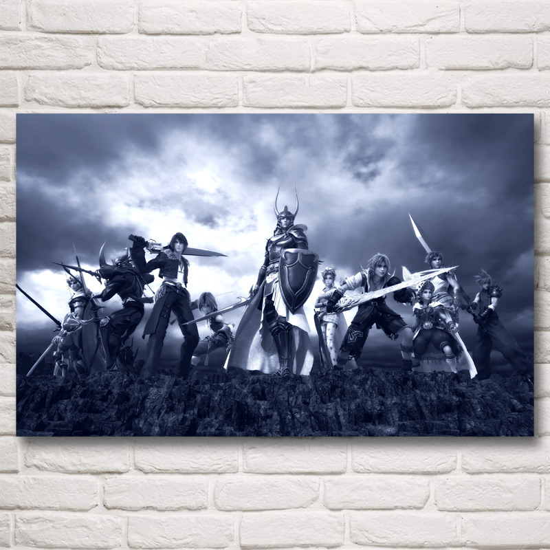FOOCAME Final Fantasy Video Games Claire Farron Art Silk Poster Prints Home Decor Painting 12x19 15x24 19x30 22x35 30x48 Inches