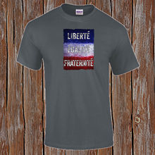 8c9f557d3ec87 Liberte Egalite Fraternite destek fransa fransız devrimi sıkıntılı T-Shirt  yeni T shirt komik üstleri Tee yeni Unisex komik Tops