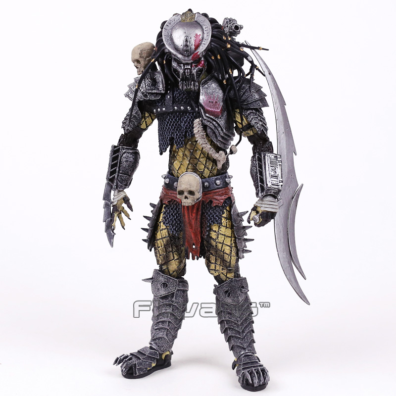 NECA PREDATOR Concrete Jungle PVC Action Figure Collectible Model Toy 22cm neca heroes of the storm dominion ghost nova pvc action figure collectible model toy 15cm
